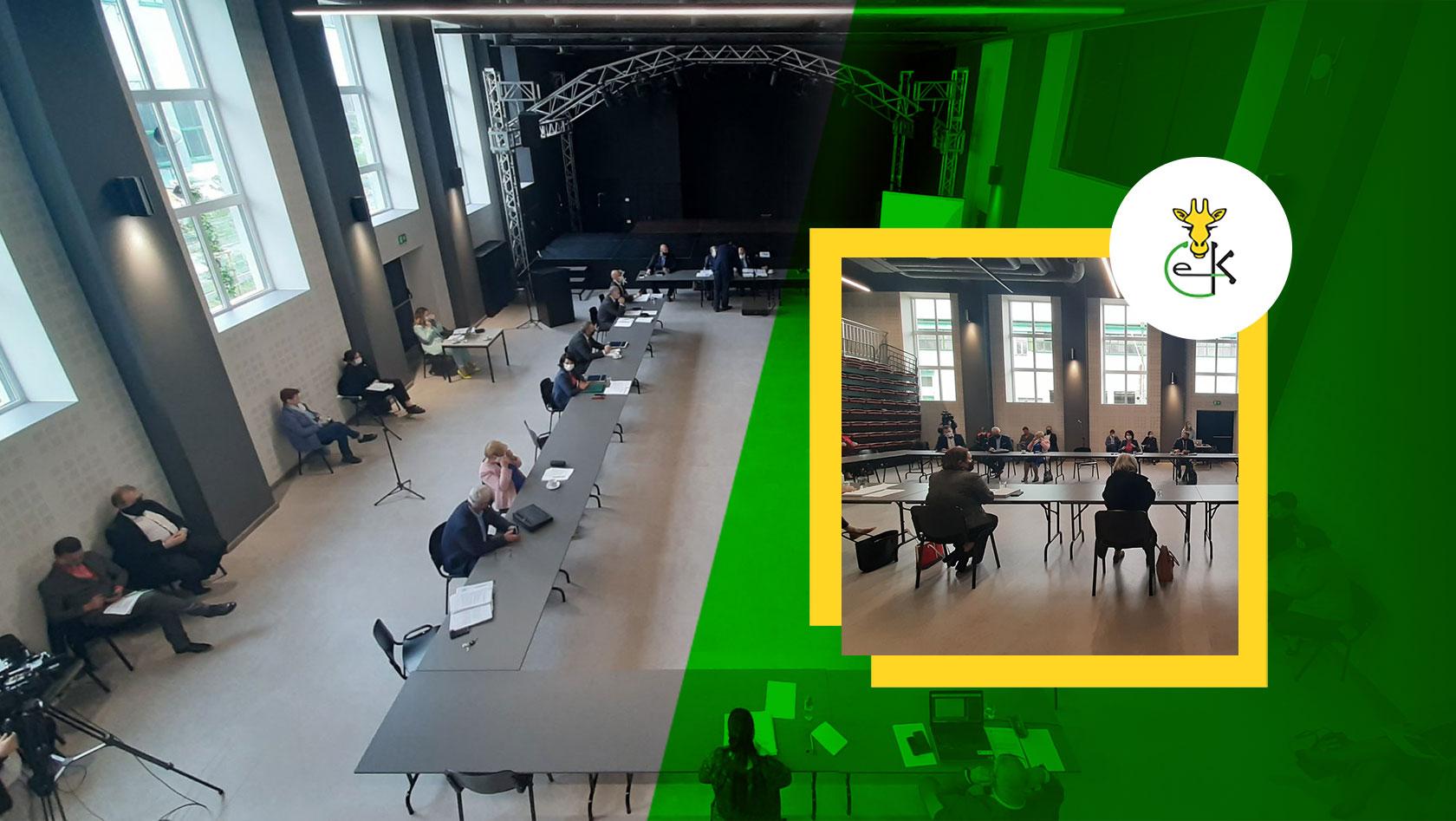 XX sesja Rady Powiatu